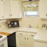 Painted Cabinets Kitchen Makeover Classy Clutter Make Old Look