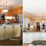 Painted Cabinets Nashville Before After