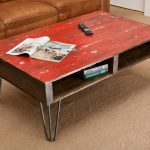 Painted Coffee Table Like Modern Fashion Design