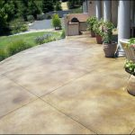 Painted Concrete Patio Stain Stones Ladyroom