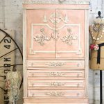 Painted Cottage Chic Shabby Romantic French Armoire Bler Och