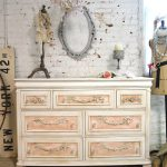 Painted Cottage Chic Shabby Romantic French Dresser