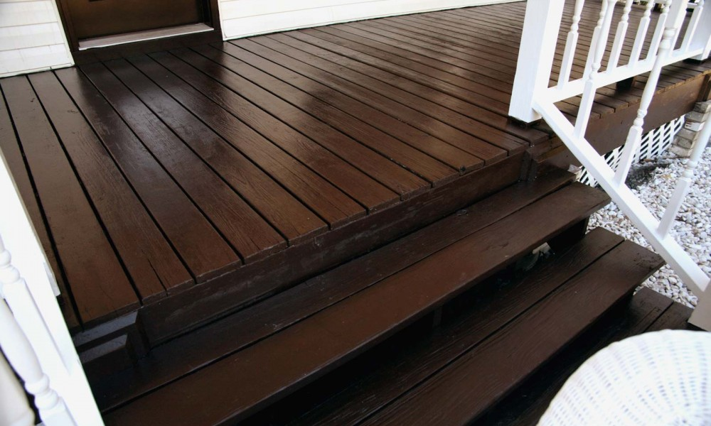 Painted Deck Restoration Contractor Bernstein Decorative Finishes Painting