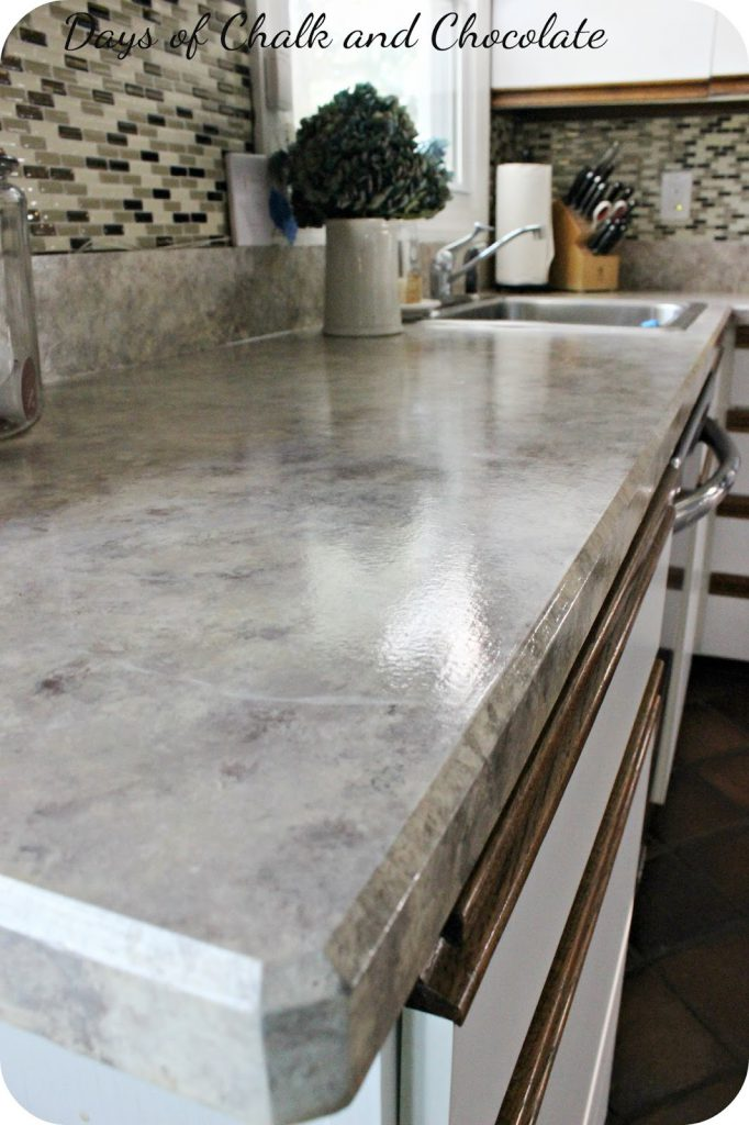 Painted Faux Stone Countertops Days Chalk