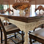Painted Furniture Dining Room Table New House