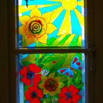 Painted Glass Window