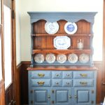 Painted Hutch Ideas China Distressed