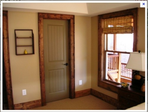 Painted Interior Doors Stained