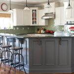 Painted Kitchen Cabinet Ideas Makeover Reveal Polka Dot