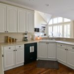 Painted Kitchen Cabinets Before After Newlywedism