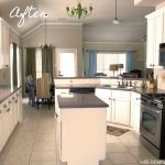 Painted Kitchen Cabinets Chalk Paint Well Groomed