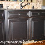 Painted Kitchen Cabinets Mediterranean Charlotte Painting Town
