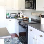 Painted Kitchen Cabinets Years Later Turquoise