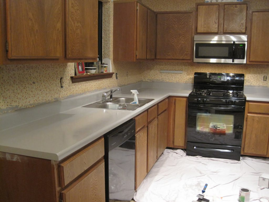 Painted Kitchen Countertops Ugly Duckling