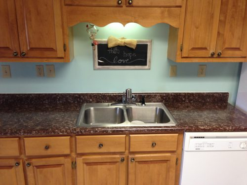 Painted Laminate Countertops Ramblings Southern
