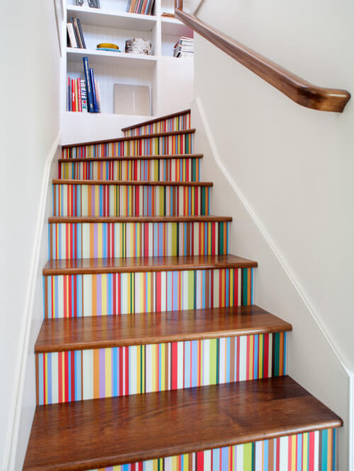 Painted Staircase Ideas Your Home Decor