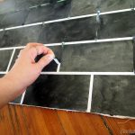 Painted Subway Tile Backsplash Tutorial Reality