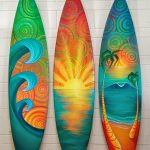 Painted Surfboards Katy Helen