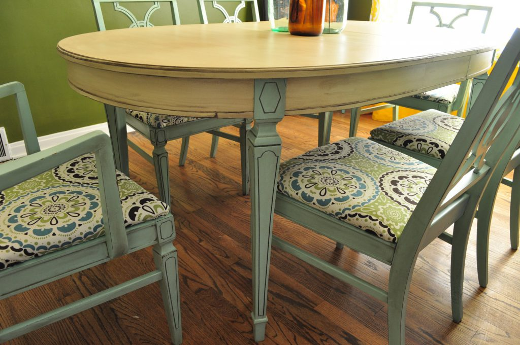 Painted Tables Chairs