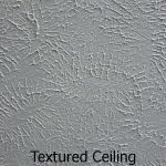 Painted Textured Ceiling Texture Types Removal
