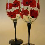 Painted Wine Glass Designs Perfect