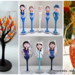 Painted Wine Glass Ideas Try