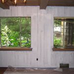 Painted Wood Paneling Before After Photos Home Improvement Thorough