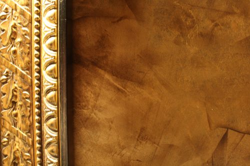 Painter Frisco Faux Finish Venetian Plaster Cabinet