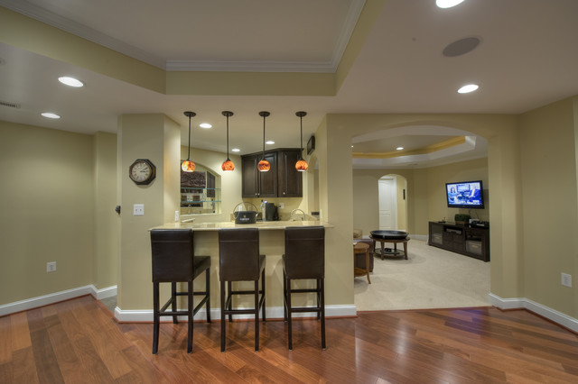 Painting Basement Floor Finishing Covering Ideas