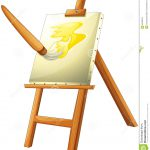 Painting Board Vector Clip
