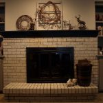 Painting Brick Fireplace Chalk Paint