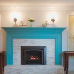 Painting Brick Fireplace Designs Ideas Small Room