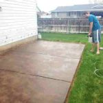 Painting Concrete Patio