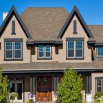Painting Exterior Wood Trim Paint Colors Brown Roof
