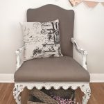 Painting Fabric Chalk Style Paints Granny Chair