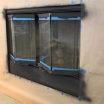 Painting Fireplace Screen Doors Under Changing