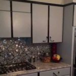 Painting Formica Cabinets Before After