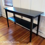 Painting Furniture Black Stain Paint Own