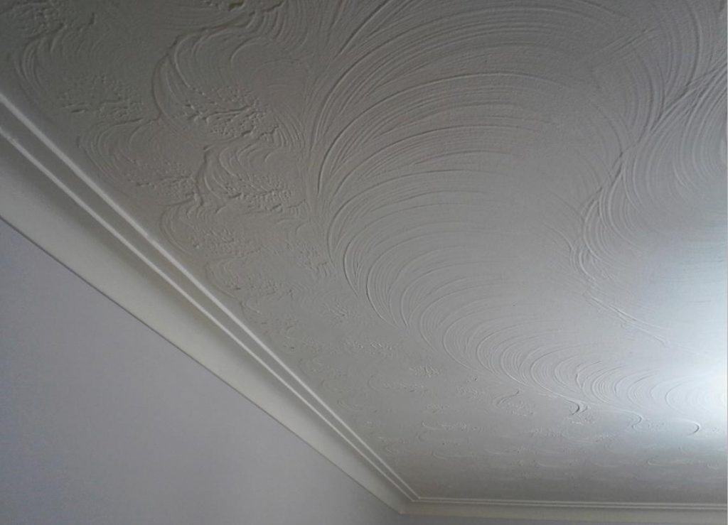 Painting Get Rid Ceiling Finish Its Name Home
