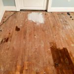 Painting Hardwood Floor Farm Fresh Vintage