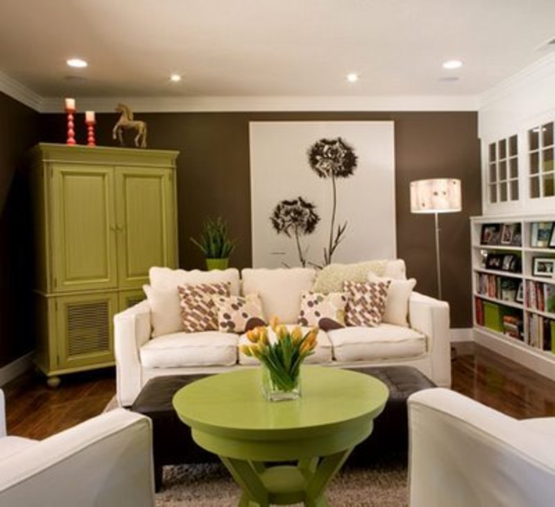 Painting Ideas Living Rooms Room Wall Design Decor
