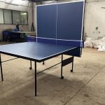 Painting Inches Folding Table Tennis Wood Competition Ping Pong