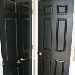 Painting Interior Doors Black Kiss