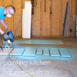 Painting Kitchen Cabinets Paint Sprayer Dans