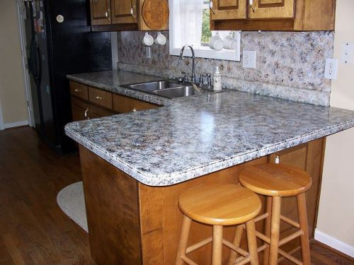 Painting Kitchen Counters Giani Granite