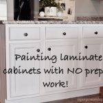 Ing Laminate Cabinets Prep Work Kitchen Pinterest
