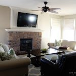Painting Living Room Behr Castle Path Life Virginia
