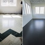 Painting Living Room Floor Tiles