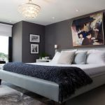 Painting Master Bedroom Ideas Accent Wall Grey