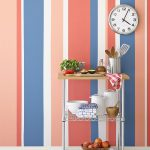 Painting Multicolored Stripes Wall